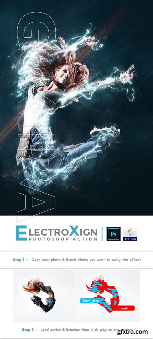 GraphicRiver - ElectroXign PS Action 23231962