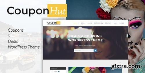 ThemeForest - CouponHut v2.9.9 - Coupons Deals WordPress Theme - 12876388