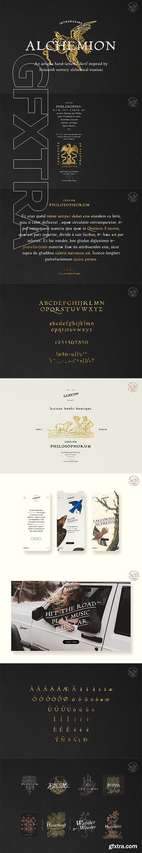 CreativeMarket - Alchemion - Display Serif Font 3439313