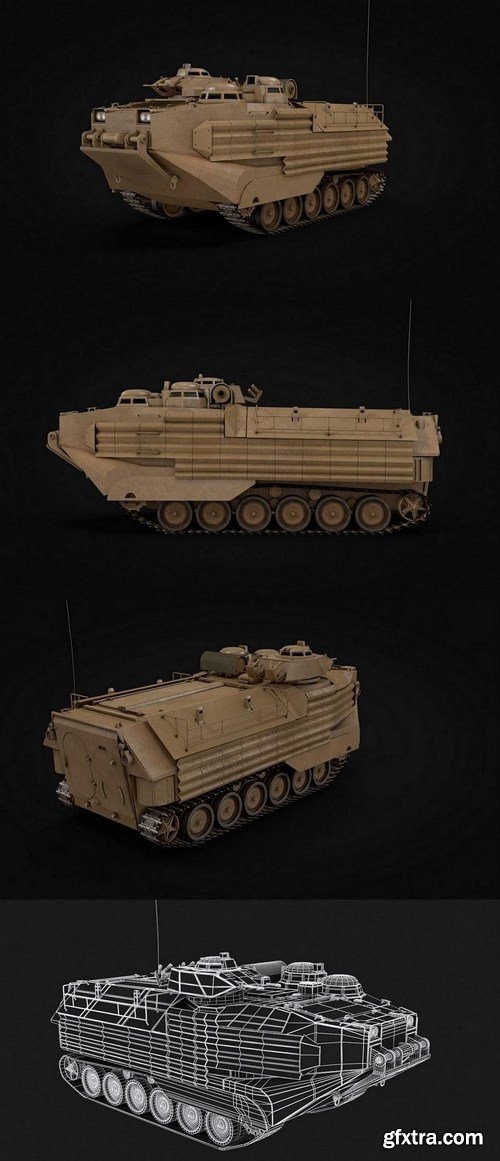 Amphibious Assault Vehicle P7 A1 – 3D Model