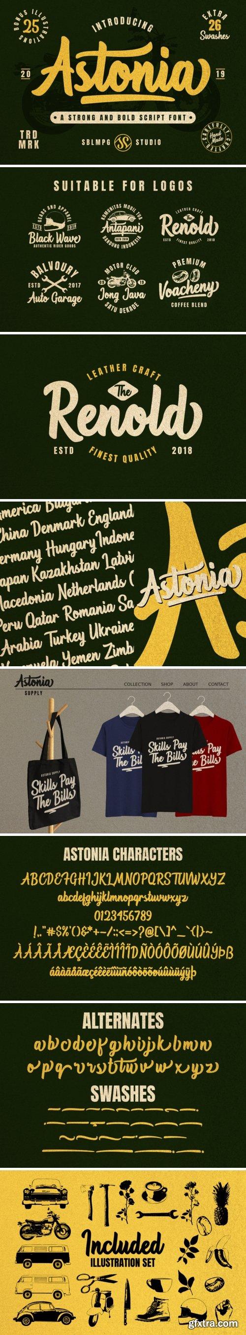 Astonia Font