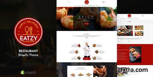 ThemeForest - Eatzy v1.1 - Restaurant Sectioned Shopify Theme - 22591579