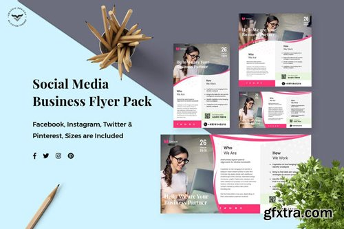 Business Social Media Template - 5JQ7A8