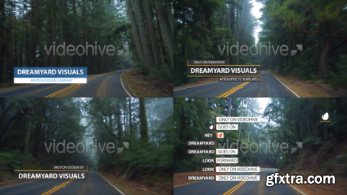 VideoHive Clean Lower Thirds and Titles 11668178