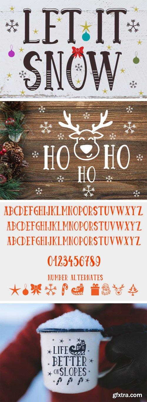 Let it Snow Font