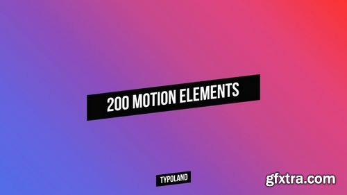 MotionArray 200 Motion Elements 178469