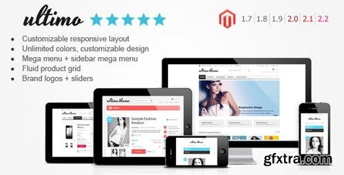 ThemeForest - Ultimo v2.8.1 - Fluid Responsive Magento Theme - 3231798