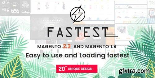 ThemeForest - Fastest v2.3.4 - Magento 2 themes & Magento 1. Multipurpose Responsive Theme (20 Home) Shopping,Fashion - 16178989