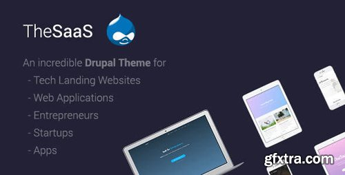 ThemeForest - TheSaaS v1.5 - Responsive SaaS, Software & WebApp Drupal 8 Themes - 20904964