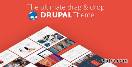 ThemeForest - Pivot v1.1 - Drupal 8 Multipurpose Theme with Paragraph Builder - 20034909