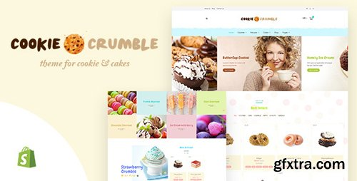 ThemeForest - Cookie Food v1.1 - Bakery, Cookie, Food Products Shopify Theme - 20502338