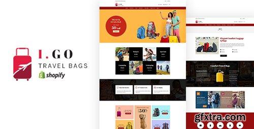 ThemeForest - Igo v1.0 - Travel Bags Shopify Theme - 22913836