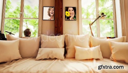 VideoHive Morning Home Photo Gallery 977850