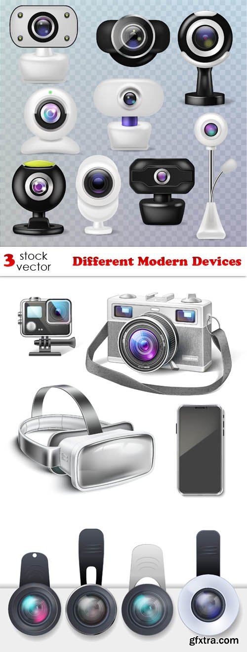 Vectors - Different Modern Devices