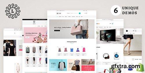ThemeForest - LUSH Shopify v1.2 - Multipurpose Shopify Theme - 20457269