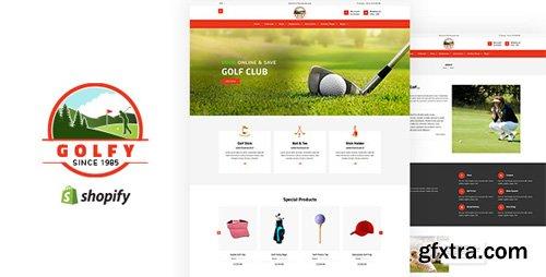ThemeForest - Golfy v1.0 - Golf, Sports Shopify Theme - 22818671