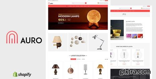 ThemeForest - Auro v1.0 - Hanging, Decorarive Lights Shopify Theme - 22913850