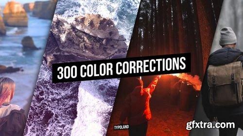 MotionArray 300 Color Correction 176918