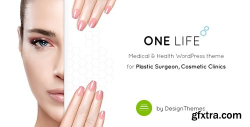 ThemeForest - OneLife Medical v2.2 - Medical Health WordPress Theme - 16435780