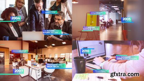 VideoHive Modern Corporate Timeline Presentation 23211134