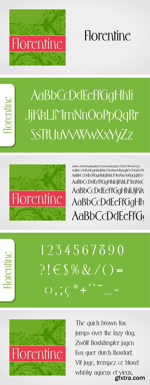 Florentine Typeface
