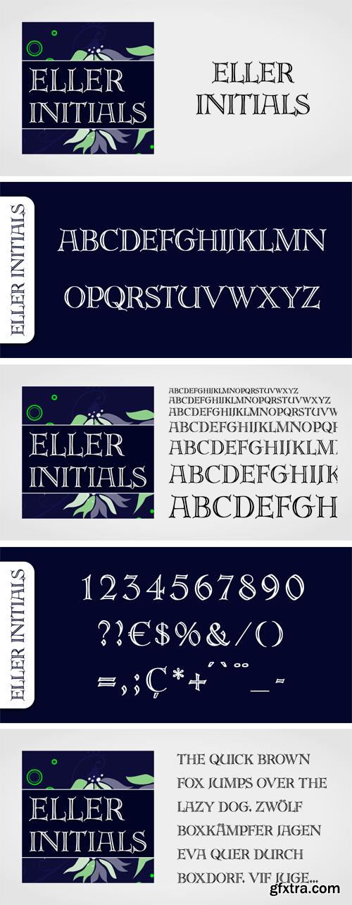 Eller Initials Font