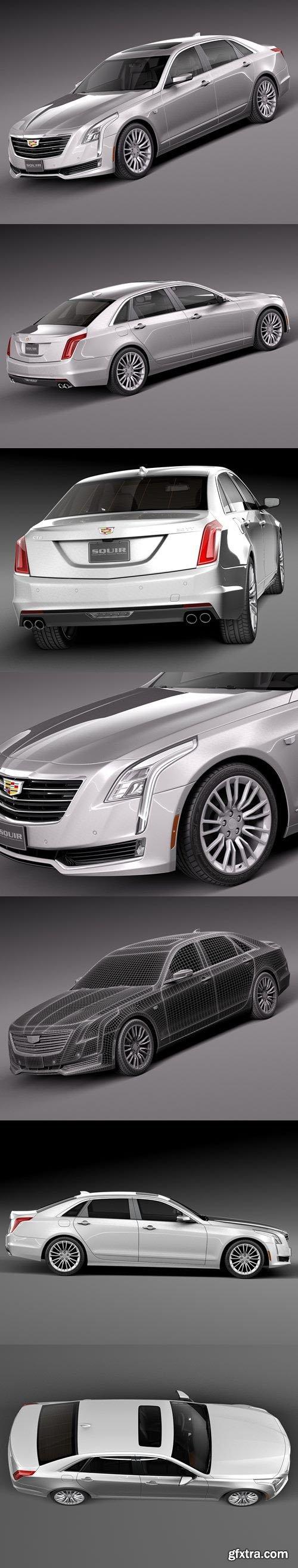Cadillac CT6 2016 – 3D Model