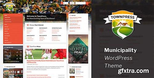 ThemeForest - TownPress v2.4.2 - Municipality WordPress Theme - 11490395