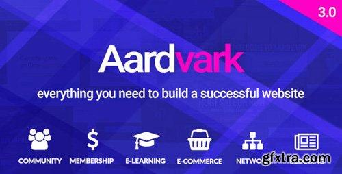 ThemeForest - Aardvark v3.0 - BuddyPress, Membership & Community Theme - 21281062