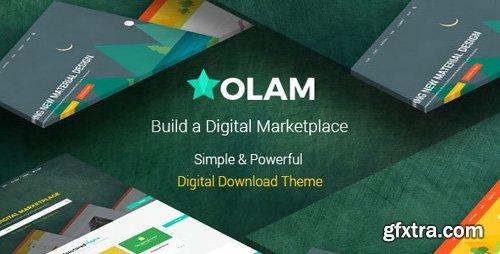 ThemeForest - Olam v4.4.1 - WordPress Easy Digital Downloads Theme, Digital Marketplace, Bookings - 14331470