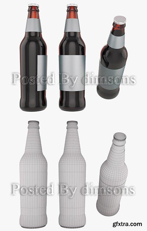 Cgtrader - Standart beer bottle 3D model