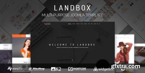 ThemeForest - Landbox v1.3.5 - Multipurpose Joomla Template - 15146276