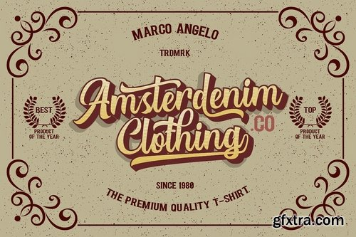 CM - Authentic  Layered Fonts 3454817
