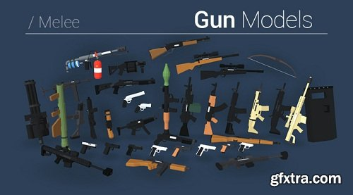 Low Poly FPS Pack