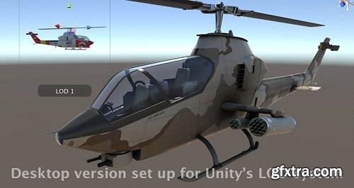 PBR Attack Helicopter of the Vietnam War Era