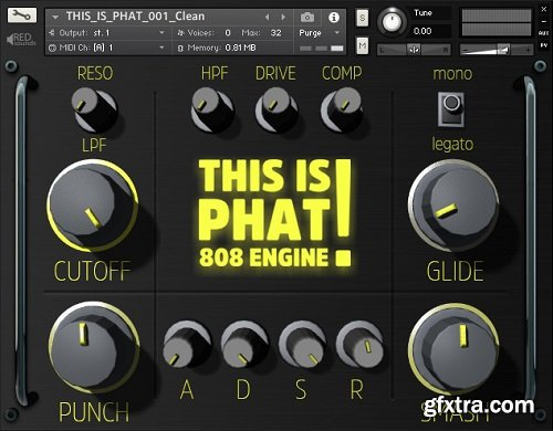 Red Sounds This Is Phat 808 Engine For KONTAKT-DISCOVER