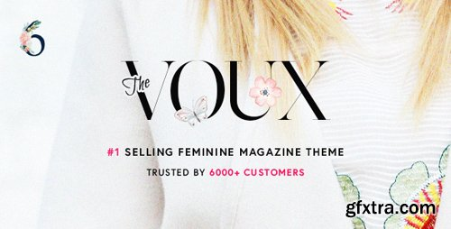 ThemeForest - The Voux v6.2.3 - A Comprehensive Magazine Theme - 11400130 - NULLED