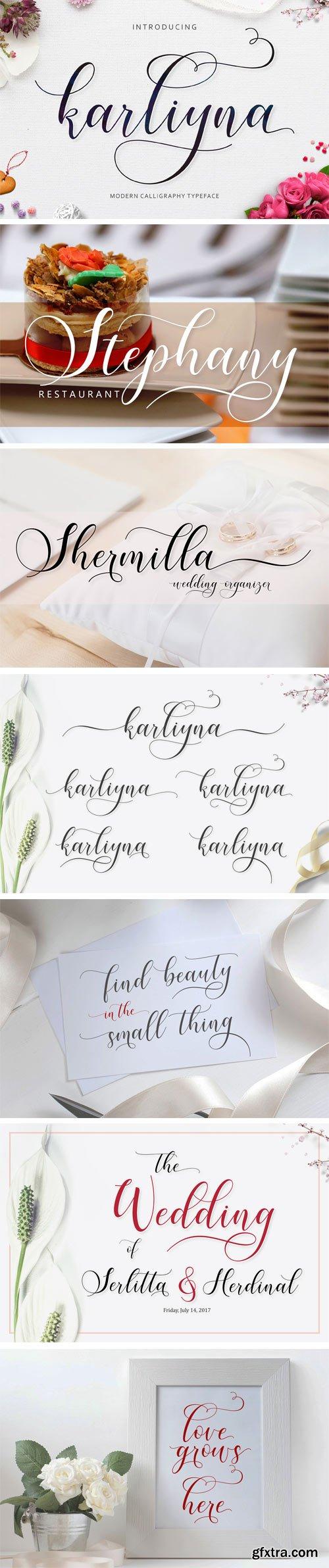 Fontbundles - Karliyna Script 26768