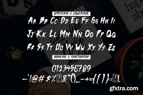 CM - Dark Monk - Brush Font 3475307