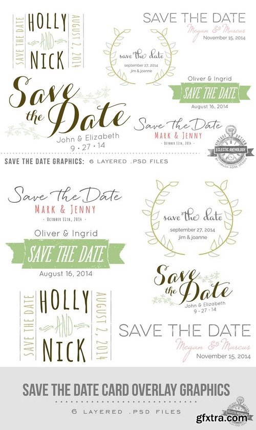 CM - Save the Date Overlay Graphics 59573
