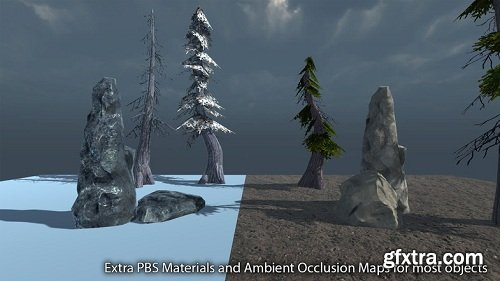 Mountain Pack - Rocks, Trees and Textures