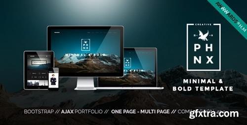 ThemeForest - Phoenix v1.5 - WordPress Minimal Multipurpose Portfolio with Visual Composer - 10813830