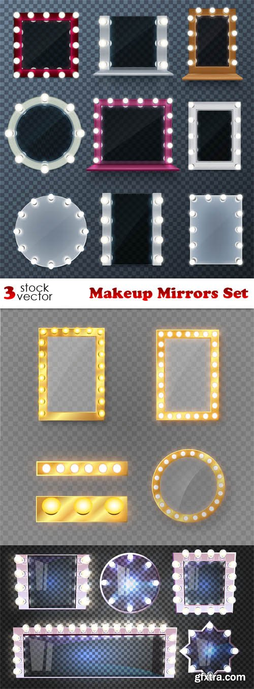 Vectors - Makeup Mirrors Set