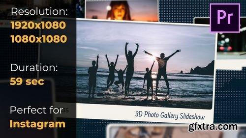MotionArray 3D Photo Gallery Slideshow 180909