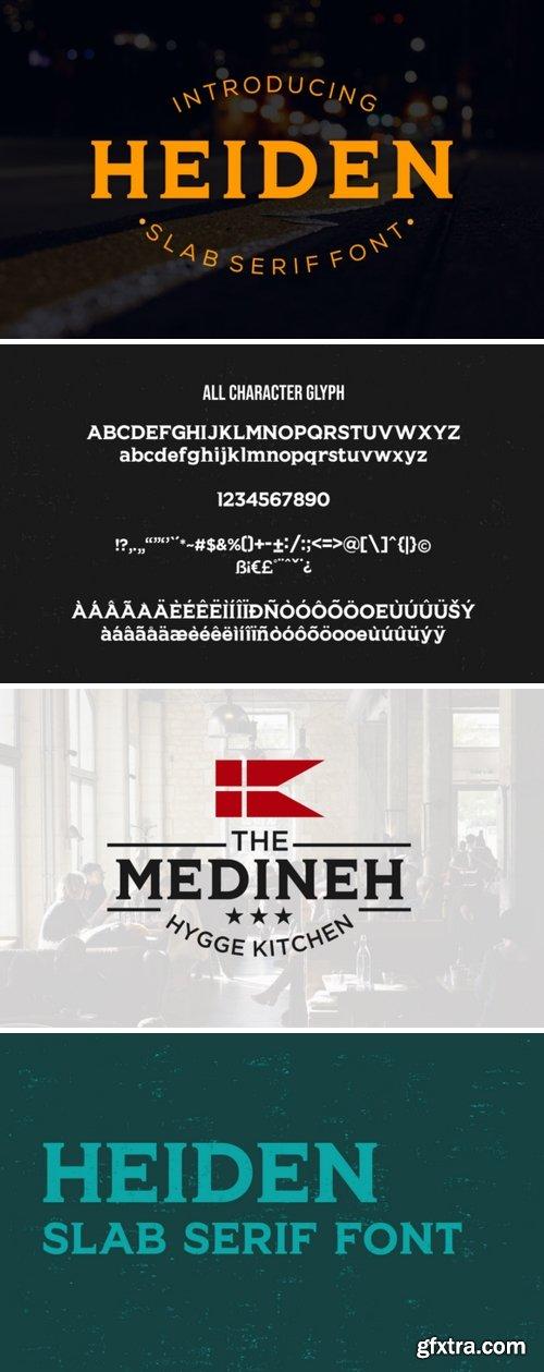Heiden Font