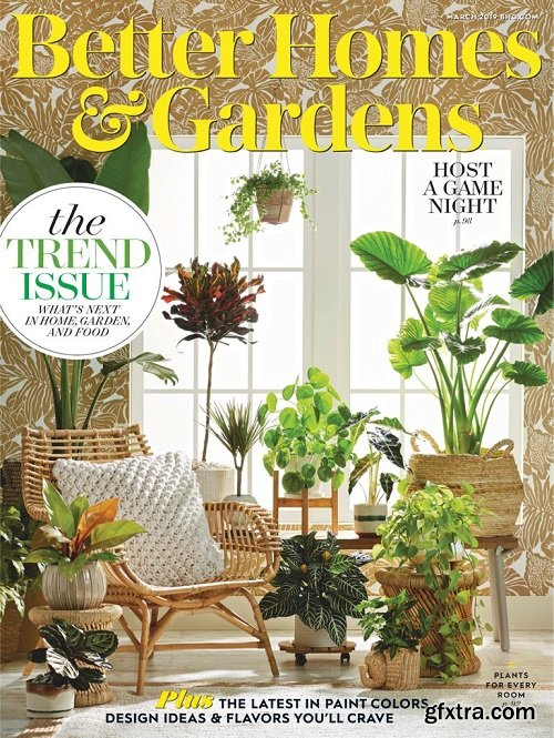 Better Homes & Gardens USA - March 2019