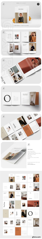 CreativeMarket - NICHOLE Lifestyle Magazine 3463380
