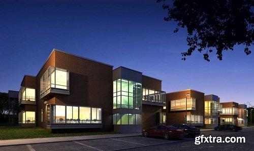 Building Exterior Scene 24