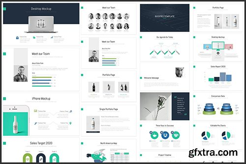BusiPro Multipurpose PowerPoint Template