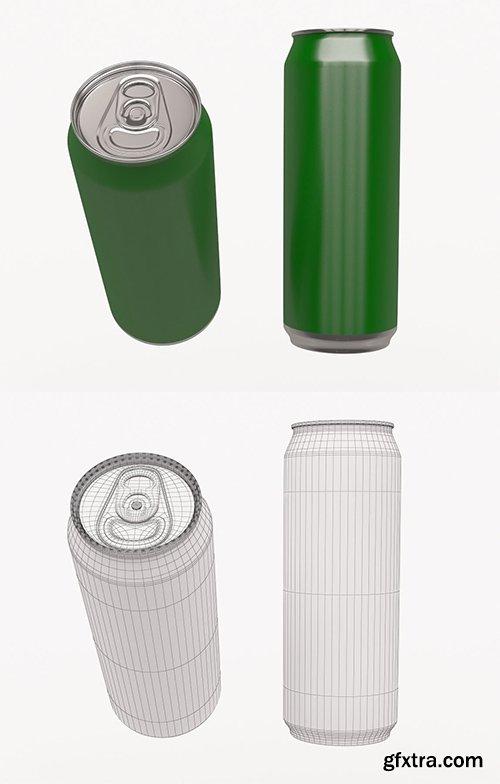 Cgtrader - Beverage can 3D model